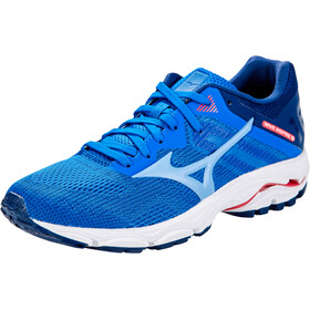 Mizuno Wave Inspire 16 Shoes Women, patriot blue/dellarobbiablue/diva pink